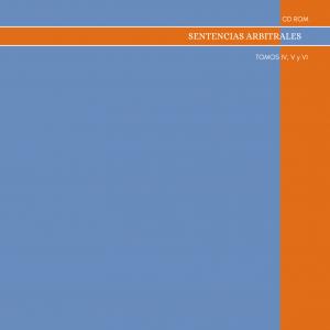 CD de Sentencias Arbitrales Tomos IV, V y VI