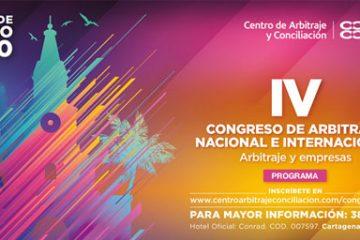 4 Congreso de arbitraje nacional e internacional