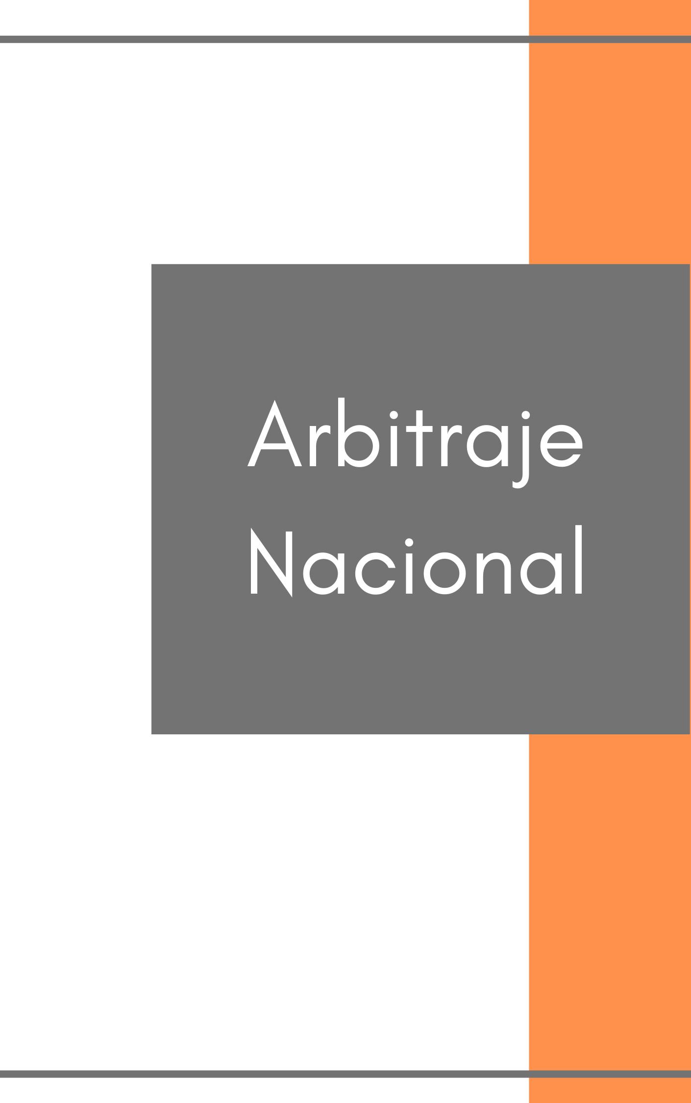 National Arbitration