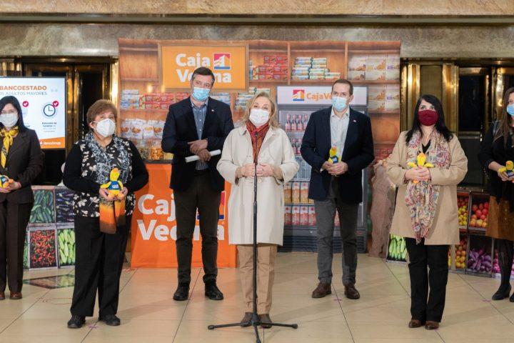 BancoEstado y Primera Dama anuncian medidas para apoyar a adultos mayores en el contexto de la pandemia