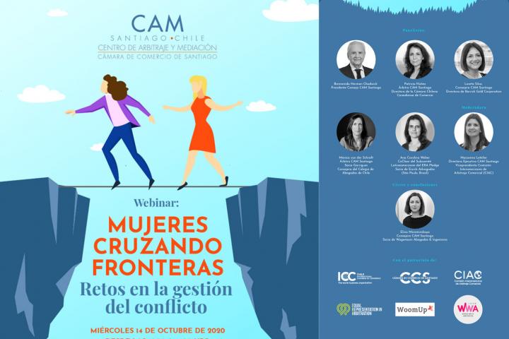 Webinar Mujeres cruzando fronteras: Retos en la gestión del conflicto