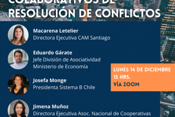 Conversatorio Economía Sostenible y Mecanismos Colaborativos de Resolución de Conflictos