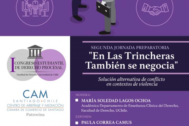 [¡En vivo!] II Jornada Preparatoria del I Congreso Estudiantil de Derecho Procesal de la Universidad de Chile