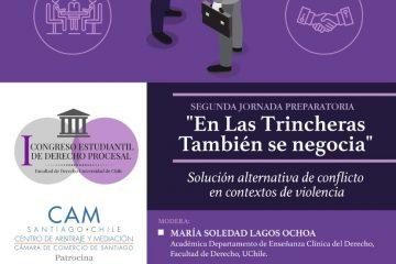 II Jornada Preparatoria del I Congreso Estudiantil de Derecho Procesal