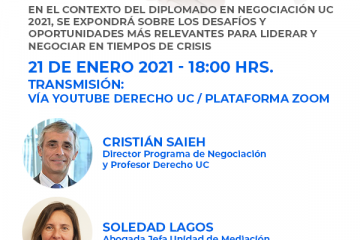 Webinar Negociar en Crisis: Desafíos y Oportunidades