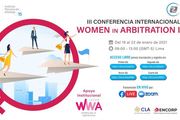 Macarena Letelier y María Teresa Vial participan en III Conferencia Internacional: Women in Arbitration IPA