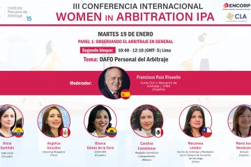 III Conferencia Internacional: Women in Arbitration IPA
