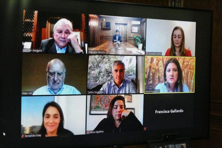 CAM Santiago firma convenio de cooperación con el Ministerio de Bienes Nacionales