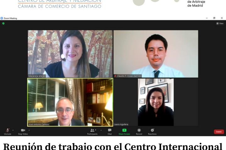 Reunión de trabajo con el Centro Internacional de Arbitraje de Madrid (CIAM)
