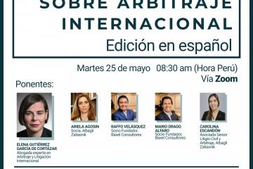 Presentación de Redfern y Hunter sobre Arbitraje Comercial Internacional