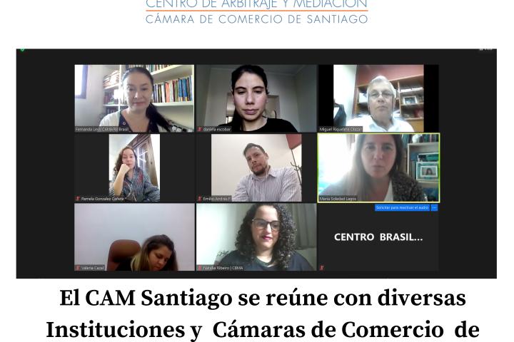 El CAM Santiago continúa ronda de reuniones con diversas Cámaras de Comercio de Latinoamérica