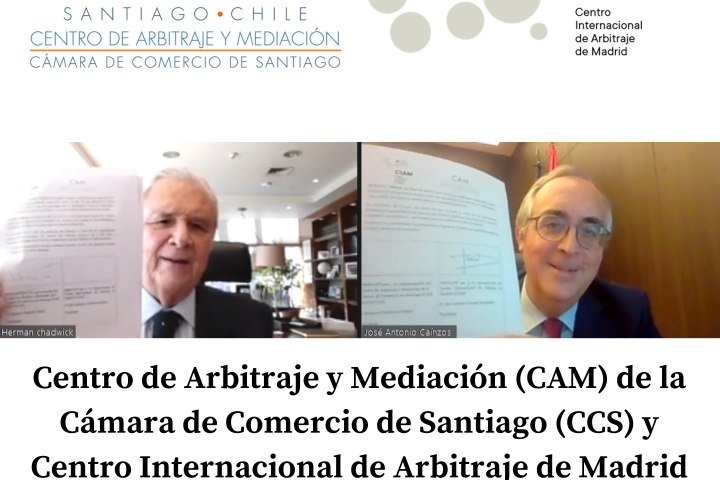 El CAM Santiago firmó Acuerdo de Cooperación con el CIAM