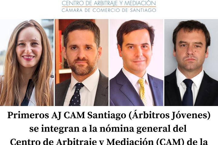 Primeros AJ CAM Santiago (Árbitros Jóvenes) se integran a la nómina general del Centro