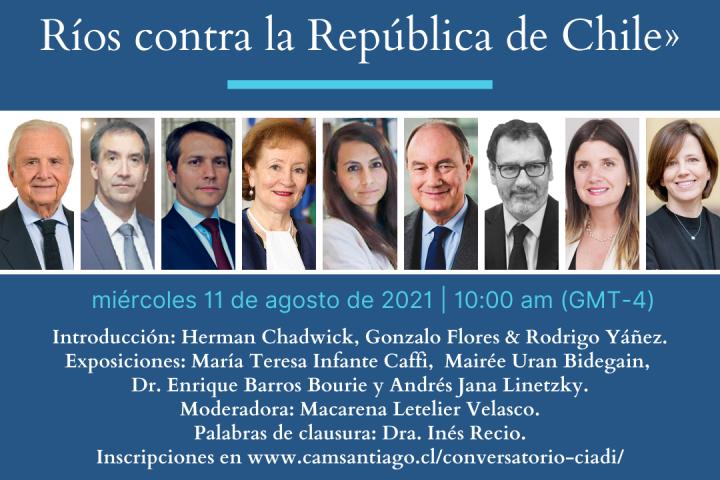 Expertos analizaron el laudo dictado por un tribunal arbitral del CIADI en el caso Hermanos Ríos contra la República de Chile