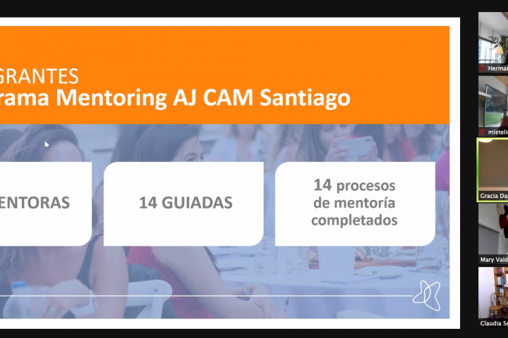 ¡Programa de Mentoring para AJ CAM Santiago finaliza con éxito!