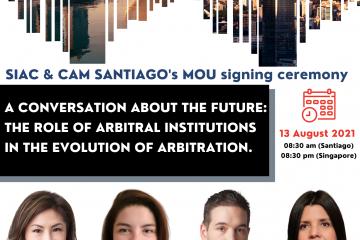 Una Conversación sobre el Futuro: El Rol de las Instituciones Arbitrales en la Evolución del Arbitraje